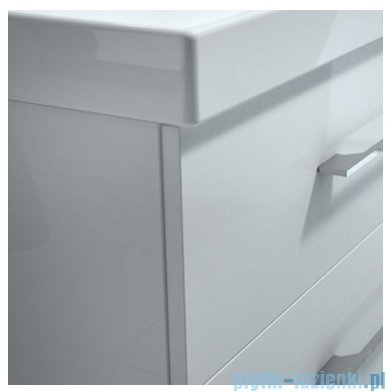 New Trendy szafka podumywalkowa One 90cm biały połysk ML-0007