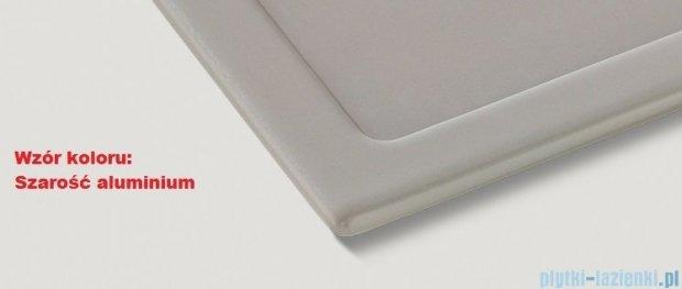 Blanco Zenar 45 S Komora podwieszana ceramiczna prawa kolor: szarość aluminium z kor. aut. 517198