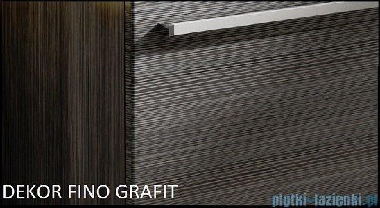 Antado Spektra ceramic szafka podumywalkowa 62x43x40 fino grafit FDF-AT-442/65GT-46