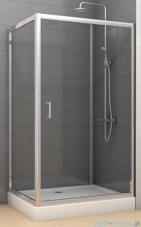 New Trendy Varia kabina prysznicowa 100x90x190 cm szkło grafitowe D-0055A/D-0048B