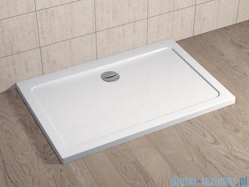 Radaway Eos II DWJ Drzwi prysznicowe 110x195 prawe szkło przejrzyste + brodzik Doros D + syfon 3799443-01R/SDRD1180-01