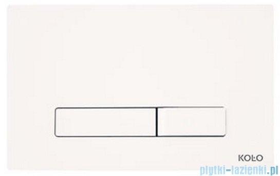 Koło Elegant przycisk spłukujący biały 94151-001