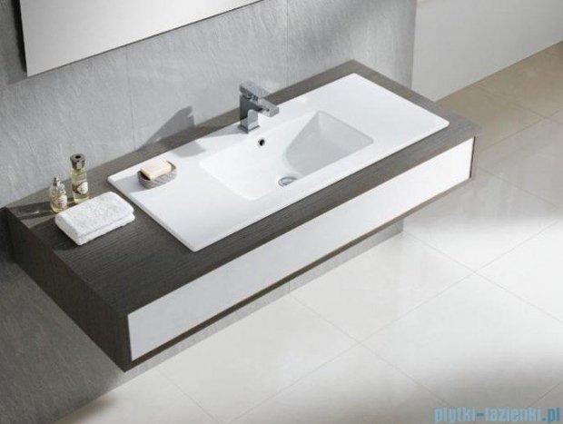 Bathco Liebana umywalka blatowa 101x46 cm 4067