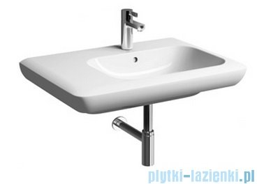 Koło Life! umywalka 70cm otworem na baterie biała lewa M21170