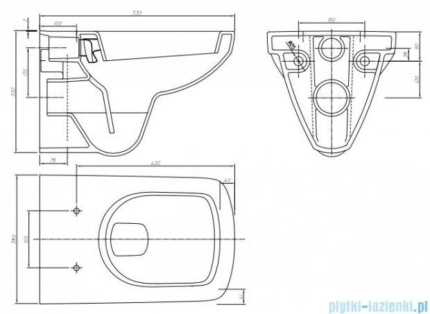 Koło Technic GT Nova Pro zestaw prostokątna 99319