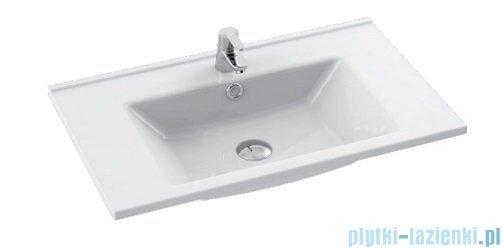 Cerastyle Arte umywalka 75x45cm meblowa / ścienna 067400-u