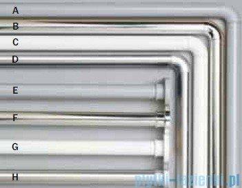 Sealskin Drążek prysznicowy Seallux 125-220cm aluminium mat 276661205