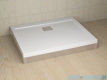 Radaway Obudowa do brodzika prostokątnego Argos D 120 aluminium chrom001-510114001