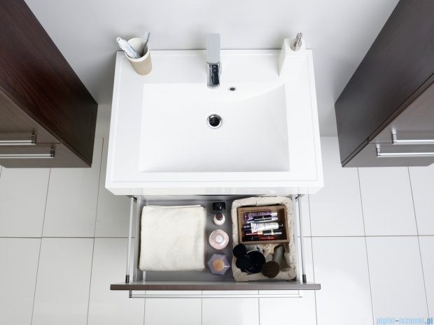 Antado Variete szafka z umywalką, wisząca 70x50x33 wenge mat FDM-442/7 + UNA-700