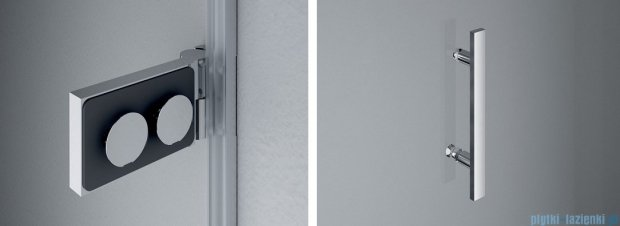 SanSwiss PUR PU31P drzwi prawe 100x200cm efekt lustrzany PU31PD1001053