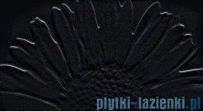 Dekor ścienny Tubądzin Colour Sunflower Black 32,7x59,3