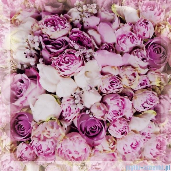 My Way kwiaty uniwersalne inserto szklane 25x25