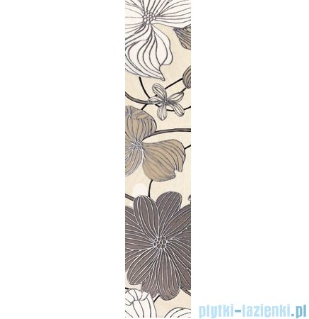 Domino Opium flower listwa ścienna 7,4x36