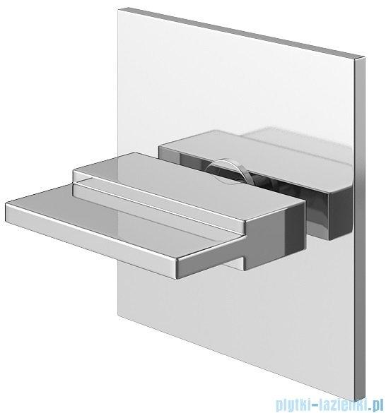 Kohlman przełącznik 3-drożny podtynkowy chrom QW033HU