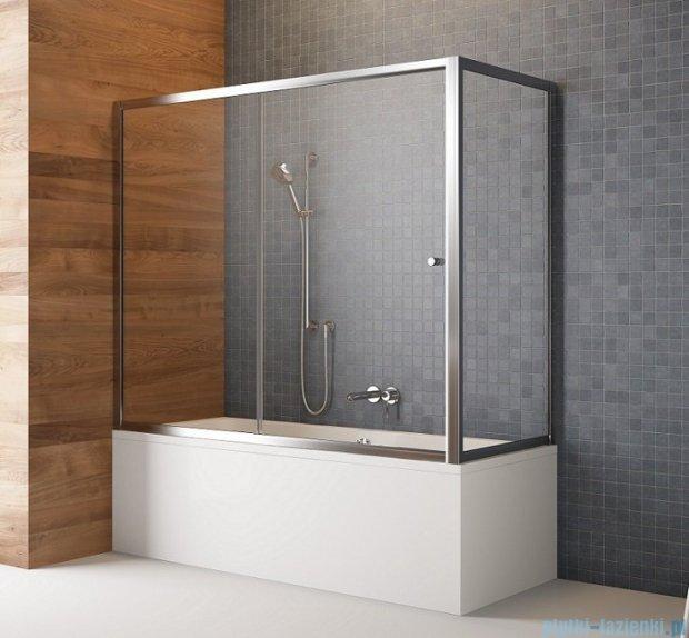 Radaway Vesta Dwj+s parawan nawannowy 160x65cm szkło przejrzyste 209116-01-01/204065-01