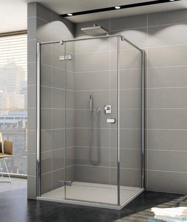 Sanswiss Melia ME13P Kabina prysznicowa lewa 90x75cm przejrzyste ME13PG0901007/MET1PD0751007