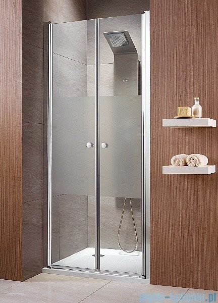 Radaway Drzwi wnękowe Eos DWD 90 szkło przejrzyste 37703-01-01N