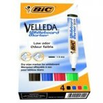 Marker do tablic Bic Velleda ECO 1701 [4szt]
