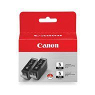 Zestaw 2 tuszy Canon PGI-5BK | 2 x 26ml | oryginał black