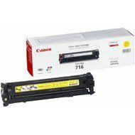 Toner Canon CRG716Y do LBP-5050, MF-8030/8050 | 1 500 str. | yellow