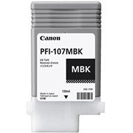 Tusz Canon PFI-107MBK do Pixma  | 130ml | matte black