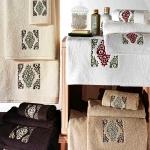 Komplet ręczników Tac - Trish - 3 szt. - biały