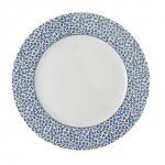 Laura Ashley BLUEPRINT - talerz śniadaniowy 20 cm - FLORIS
