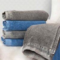Ręcznik DENIM - niebieski szary