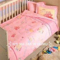 Pościel niemowlęca Tac Bio My Little Baby - różowa - 4 elem.
