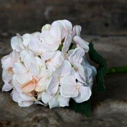 Sztuczny kwiat - Hortensja - różowa