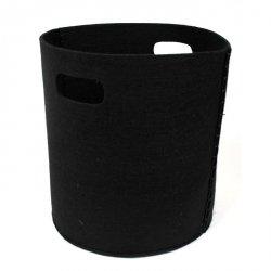 Koszyk filcowy - BLACK