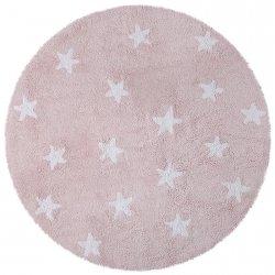 Dywan do prania w pralce - Lorena Canals CIELO - różowy
