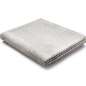 Koc Biederlack 100% bawełna - Pure Cotton - szary jasny