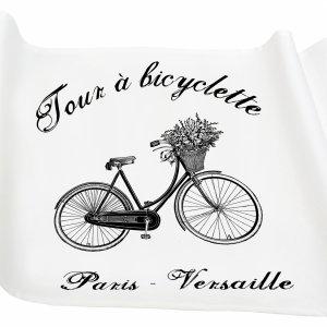 Bieżnik French Home - Bicyclette M - biały