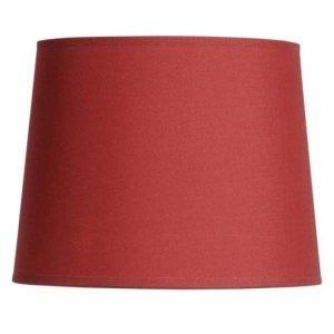 Abażur Belldeco - średnica 20 cm - czerwony