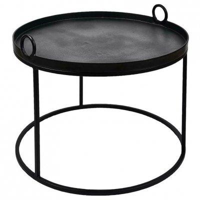 Stolik Belldeco - Nero - średnica 70 cm