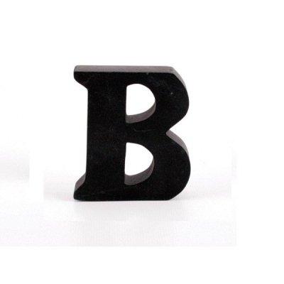 Litera ozdobna mała - B - czarna