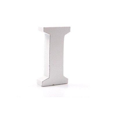 Litera dekoracyjna mała - I - biała