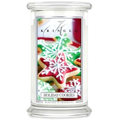HOLIDAY COOKIES - świeca zapachowa KRINGLE CANDLE - 100 godzin