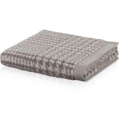 Ręcznik Möve z lnem - BROOKLYN KRATKA - beżowy