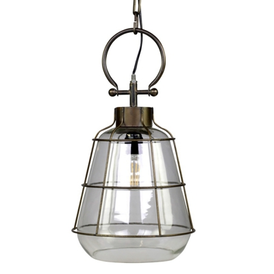 Lampa sufitowa Chic Antique - FACTORY - szklana 52,5 cm