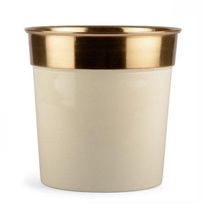 Doniczka Gold - 21 cm
