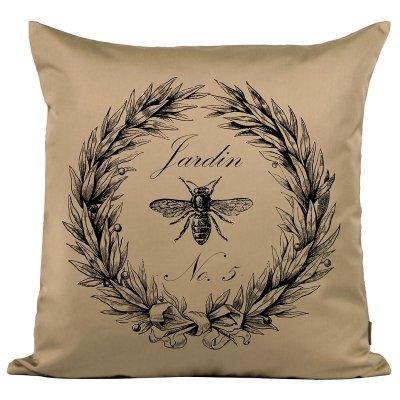 Poduszka French Home - Jardin - beżowa