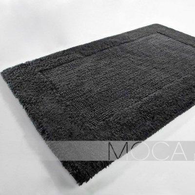 Dywanik łazienkowy Moca Design - Frame - antracytowy