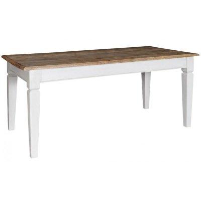 Stół Belldeco - Bristol White - biały prostokątny