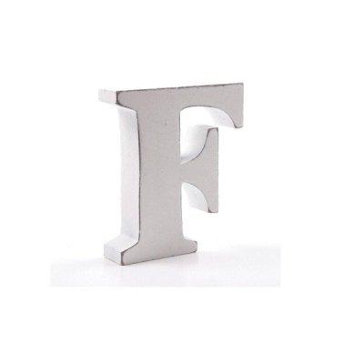 Litera dekoracyjna mała - F - biała