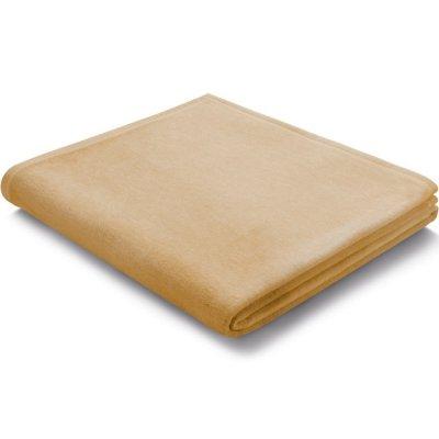 Koc Biederlack 100% bawełna - Pure Cotton - beżowy