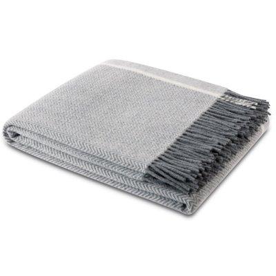 Pled Biederlack 100% wełna - Herringbone Wool