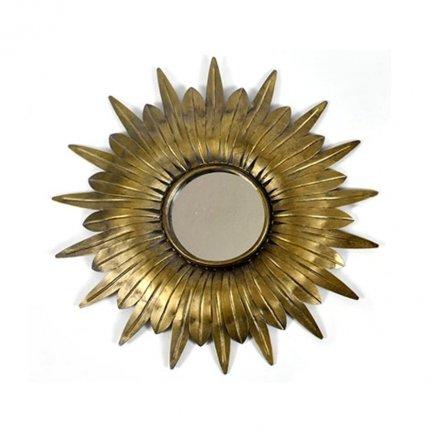 Lustro słońce - Belldeco Barok Old - 41 cm