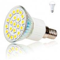 LED żarówka Inoxled E14, 230V, 4W, 245lm, zimna biel, 60000h, POWER, 21SMD, 5050